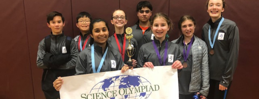 Science Olympiad is an after-school activity coached by teachers Suzanne Guziec, Evan Lucieer, and Tina Russo.