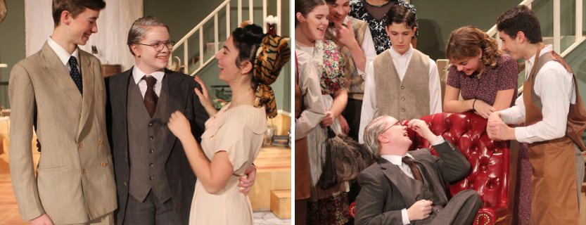 """Fantastic performance!"" Congrats to the cast and crew of ""You Can't Take It With You"" and all who supported them."