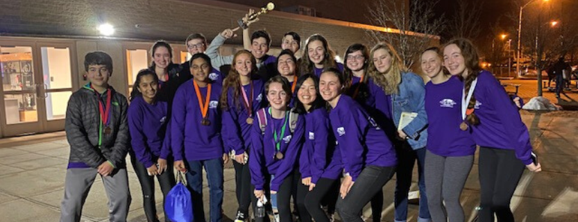 John Jay will move on to the New York State Science Olympiad competition from the Lower Hudson Valley Regional