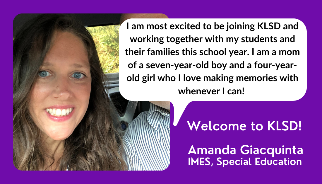 welcome new educator!