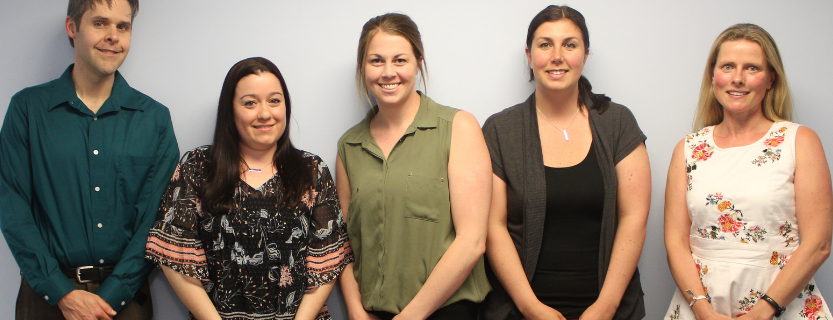 Congrats to teachers receiving tenure: Jonathan Aker, Kate Hernandez, Meaghan Knapp, Kaitlin Watkins, Rebecca Wayland