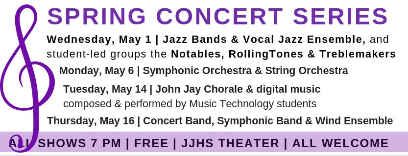 Spring Concert Series