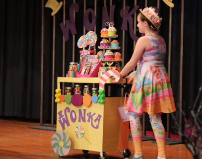 "Bravo! Audiences laugh and love the fifth grade musical ""Willy Wonka"""