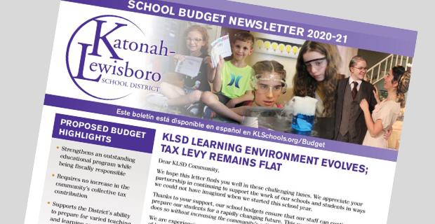 Budget Newsletter