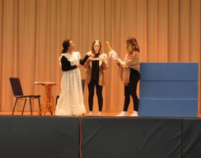 Advanced Acting class at KES