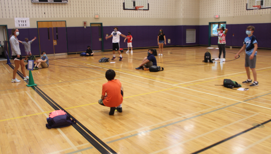 getting to know you games in PE