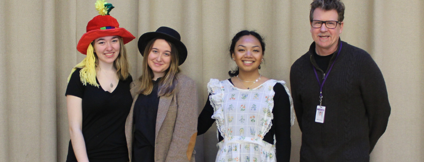 Advanced Acting Class visits KES