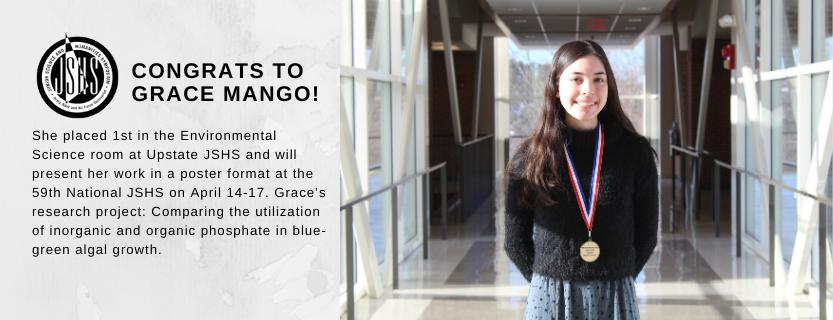 Grace Mango proceeds.