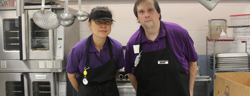 Meadow Pond Elementary School's Food Service Staff