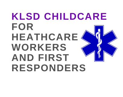 Childcare for healthcare workers & 1st responders