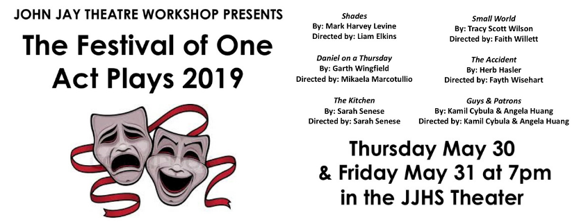 One Acts on May 30 and 31