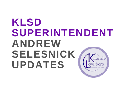 Updates from Superintendent Andrew Selesnick