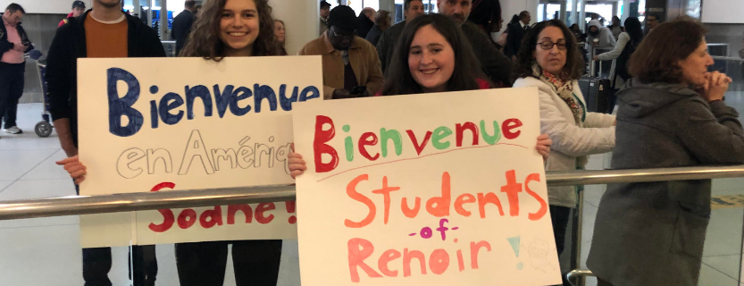 Welcome, students from Lycée Auguste Renoir