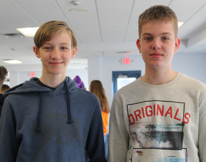 Students from Katonah-Lewisboro School District participate in a French exchange