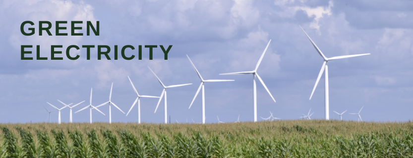 KLSD purchases all of its electricity from 100% renewable energy sources. More.