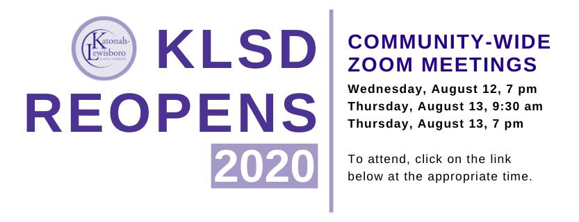 KLSD Reopens 2020