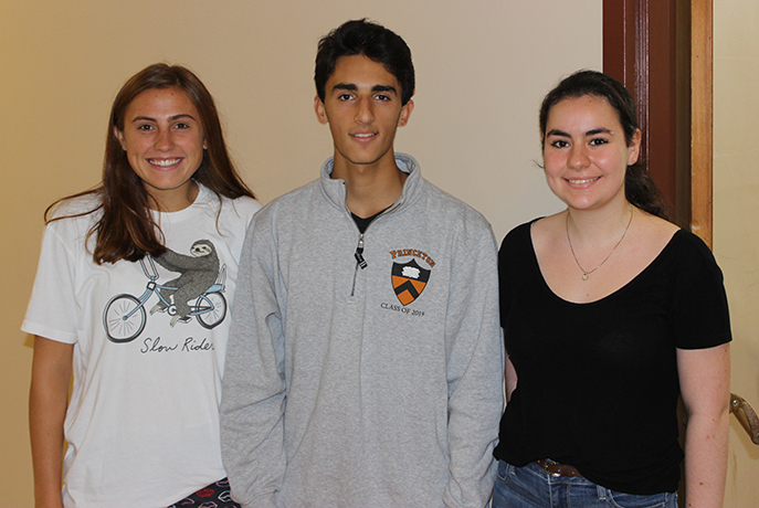 Charlotte Edmunds, Michael Salama and Sarah Ellenbogen are shown.