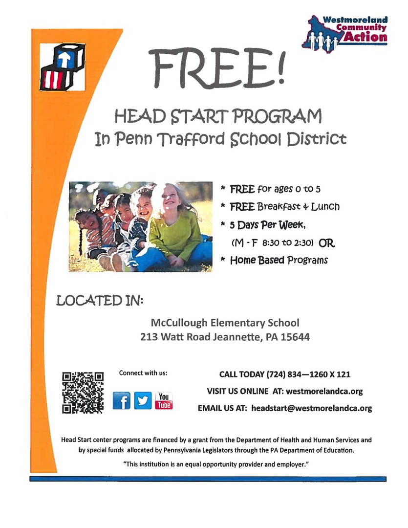 Head Start Program Flyer