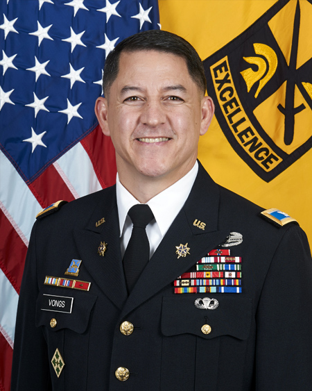 Colonel Joseph Vongs