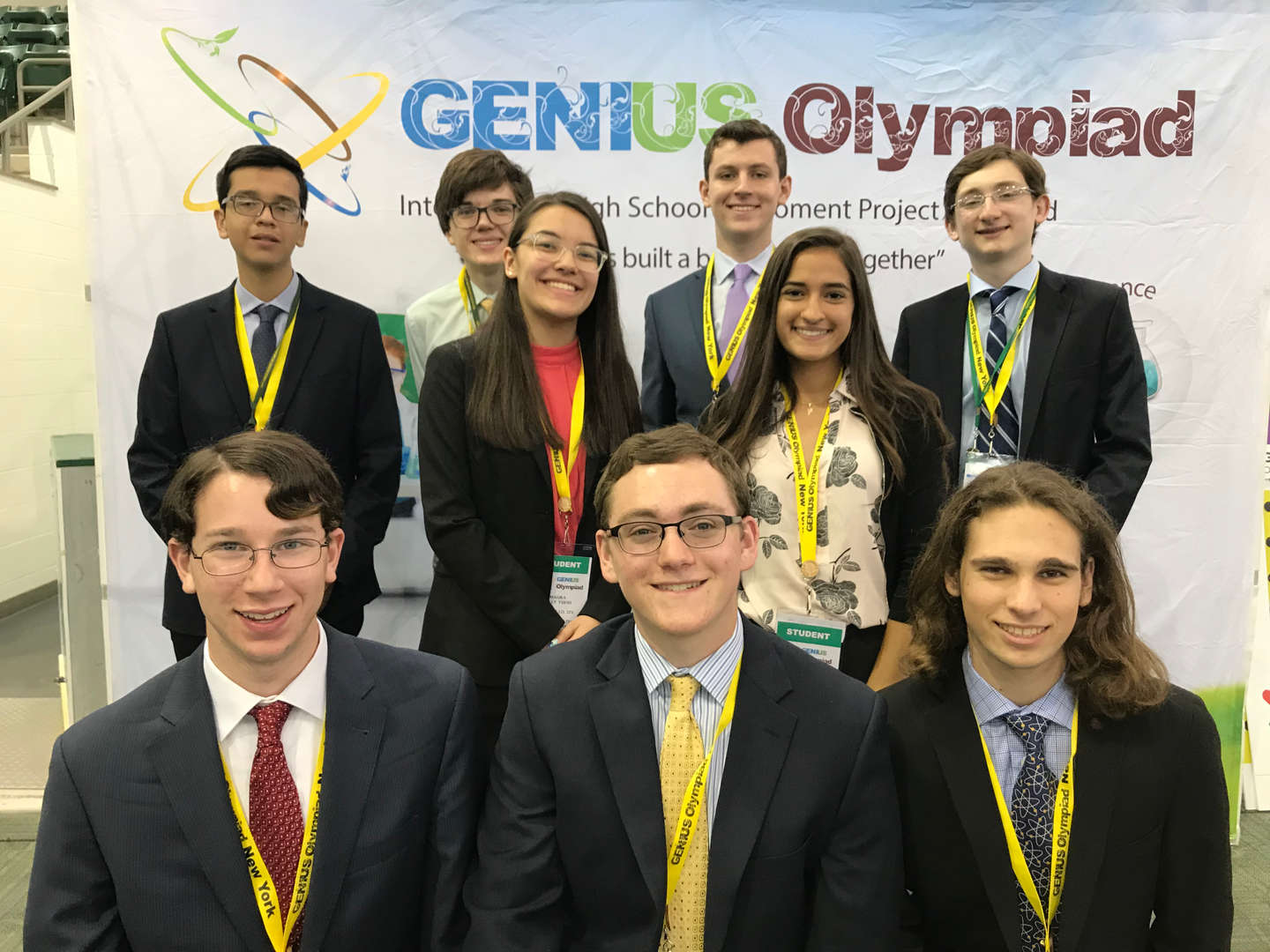 Science Research students at GENIUS Olympiad