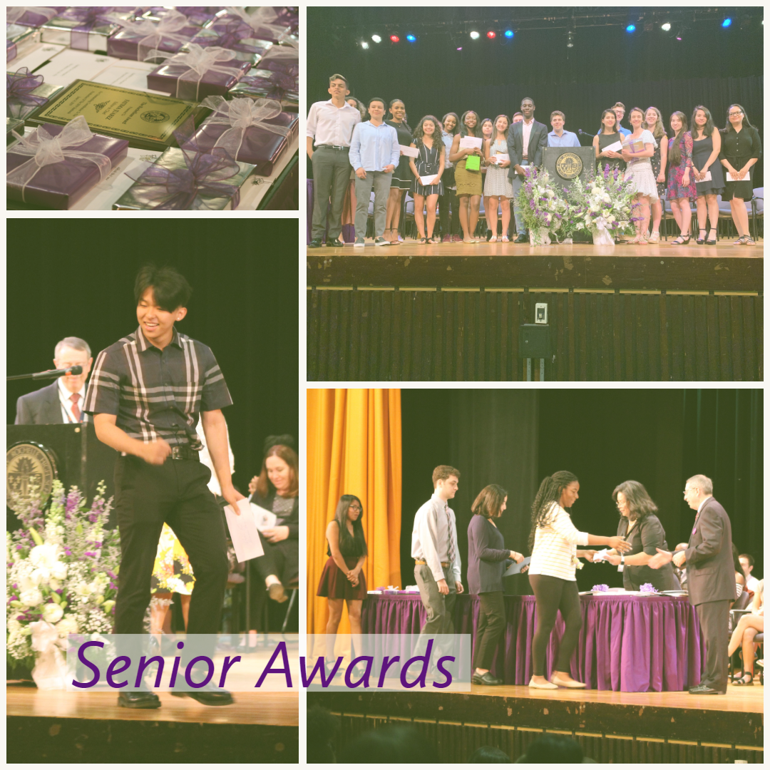 Scenes from the two senior awards ceremonies.