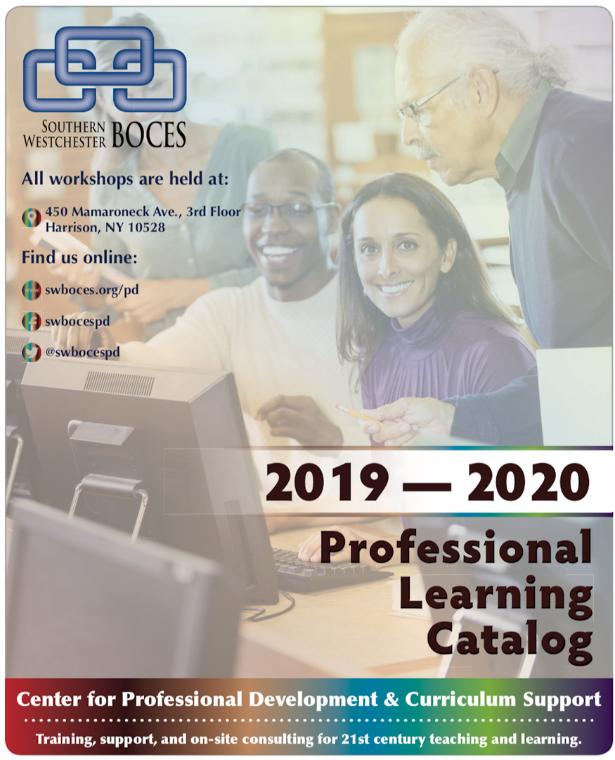 cover of new PD catalog