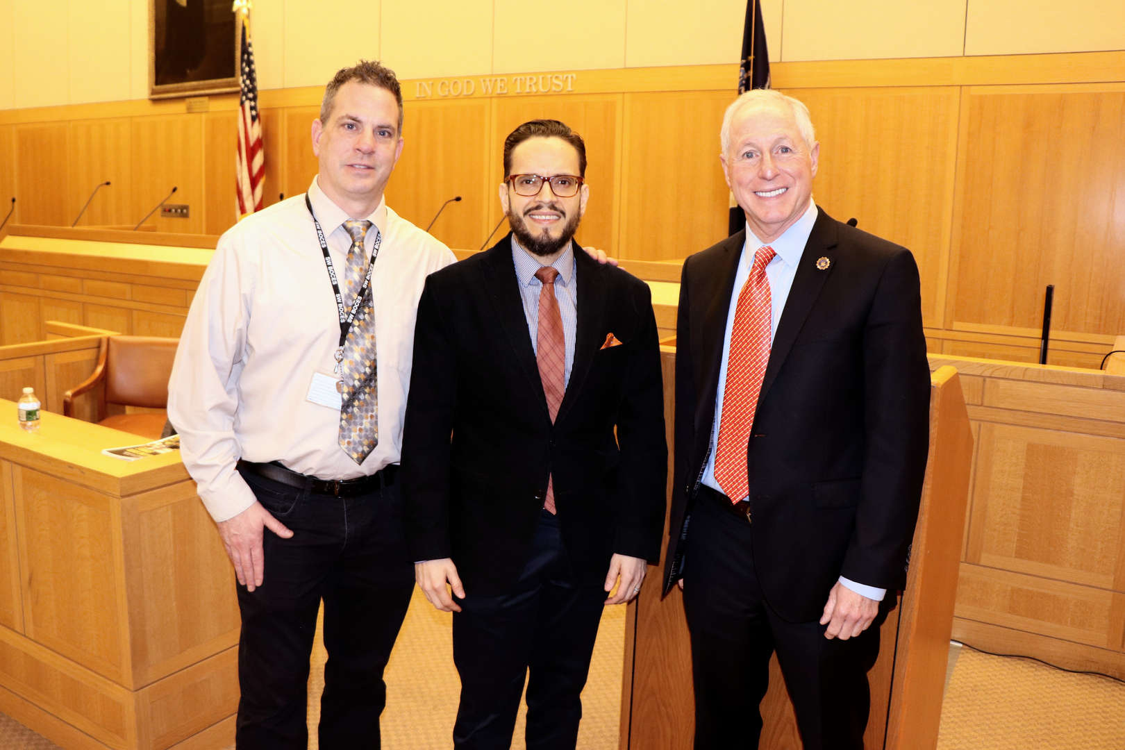 principal, safety supervisor and Assistant District Attorney