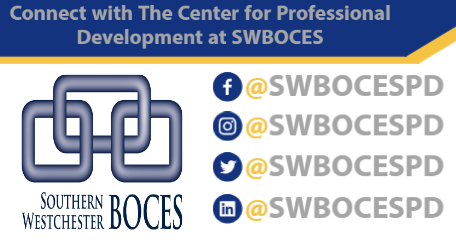 follow the Center for Professional Development on Facebook, Twitter, Instagram and LinkedIn