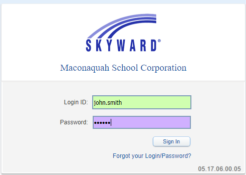 Skyward Login