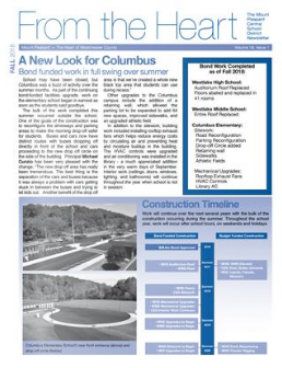Cover of 2018 Fall newsletter