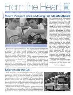 Cover of Winter 2017 newsletter