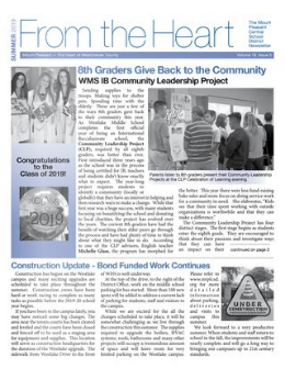 Cover of Summer 2019 Newsletter