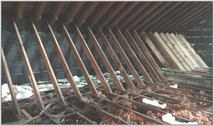 Provide fireproofing in Hawthorne attic