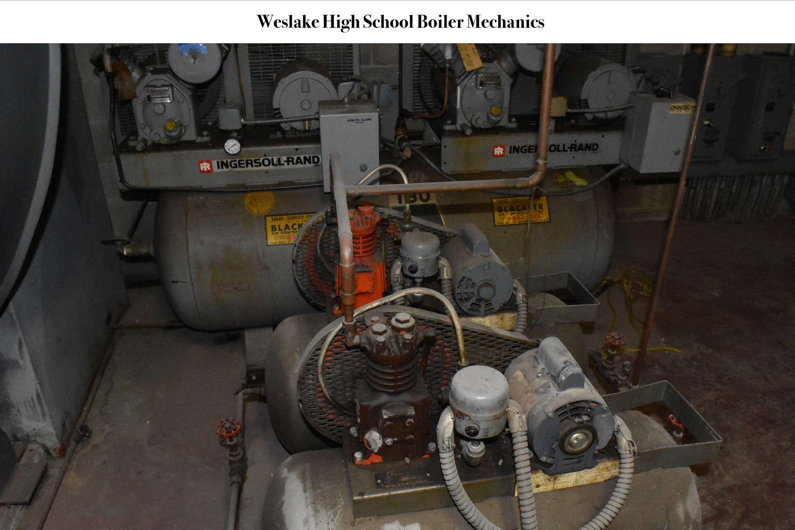 WHS Boiler Room Mechanical Unit