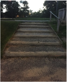 Upgrade dangerous exterior stairways, making them ADA compliant