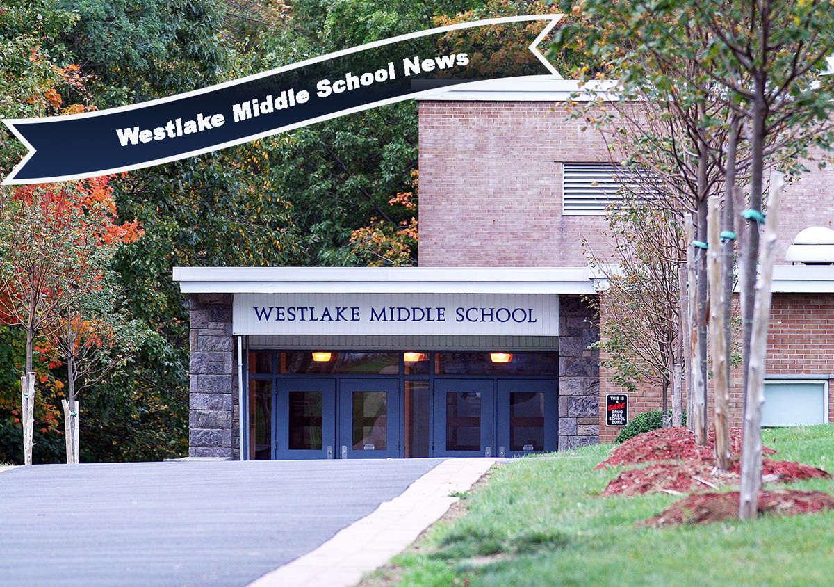 Front entrance of Westlake Middle School