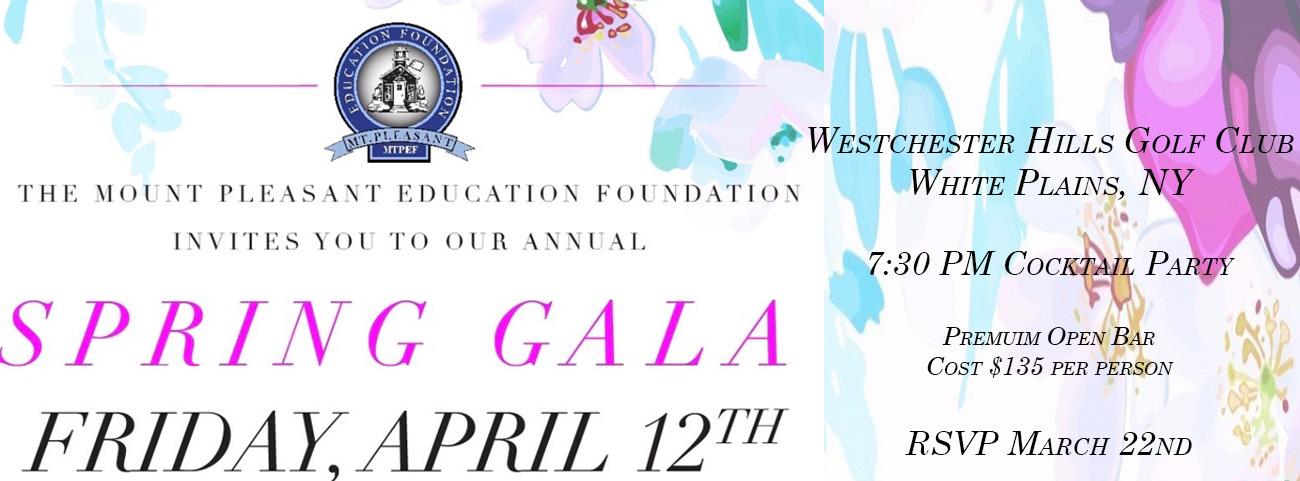 MTEF Spring Gala Invite
