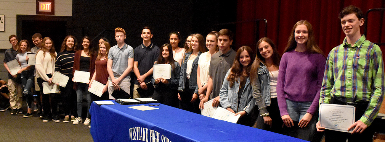 22 9th graders made honor roll