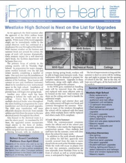 Cover of Spring 2019 Newsletter