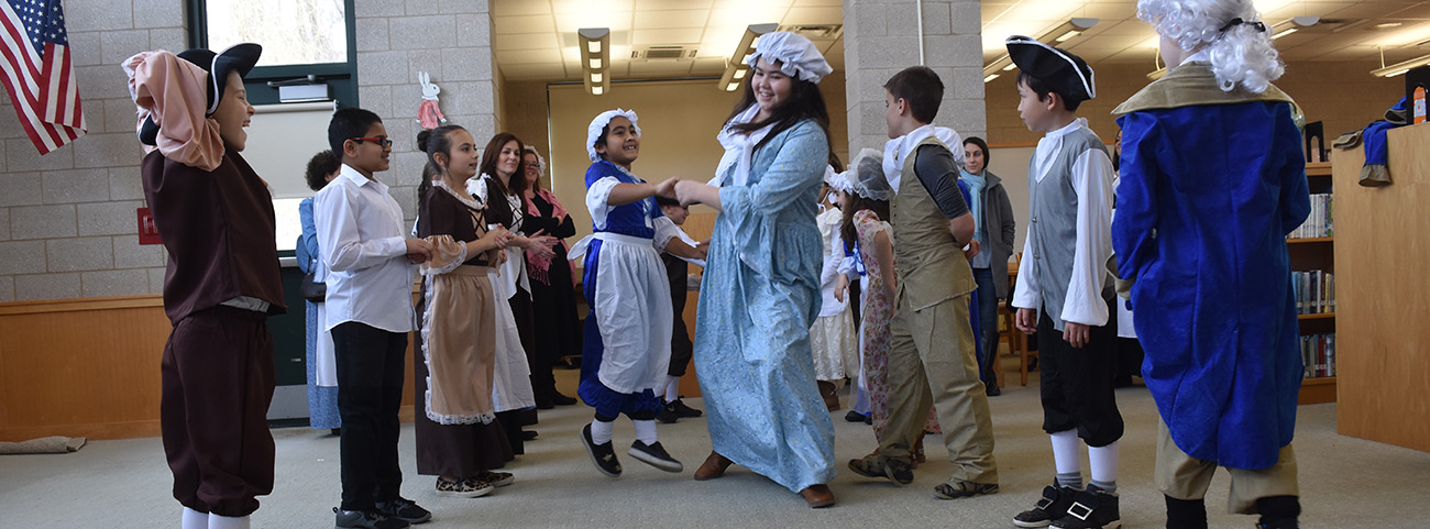 4th Graders celebrate Colonial Day