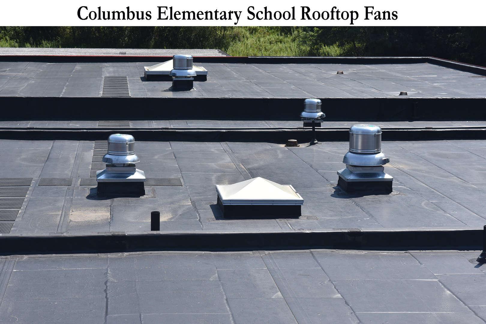 Columbus roof fans