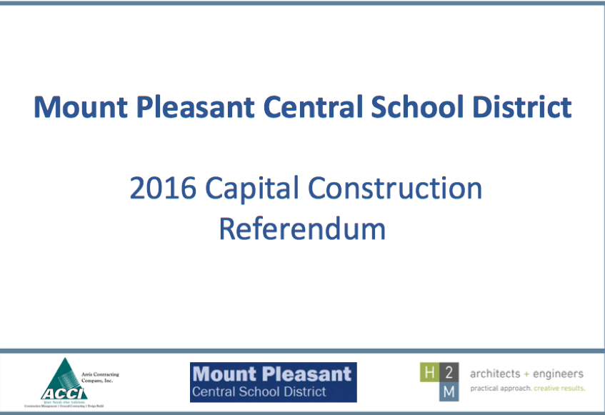 MPCSD 2016 Capital Contruction Referandum