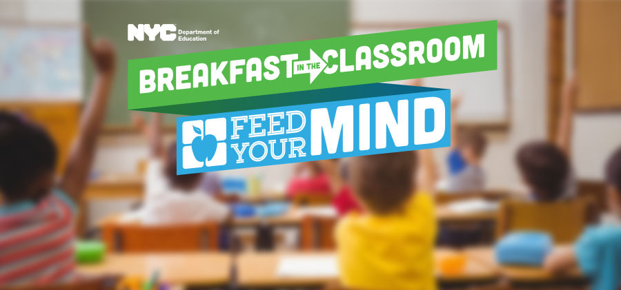 Breakfast in the classroom advertisement