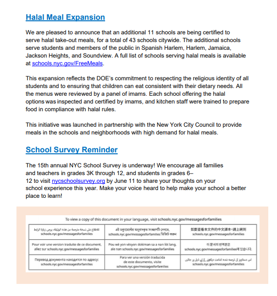 Page 3 School Information