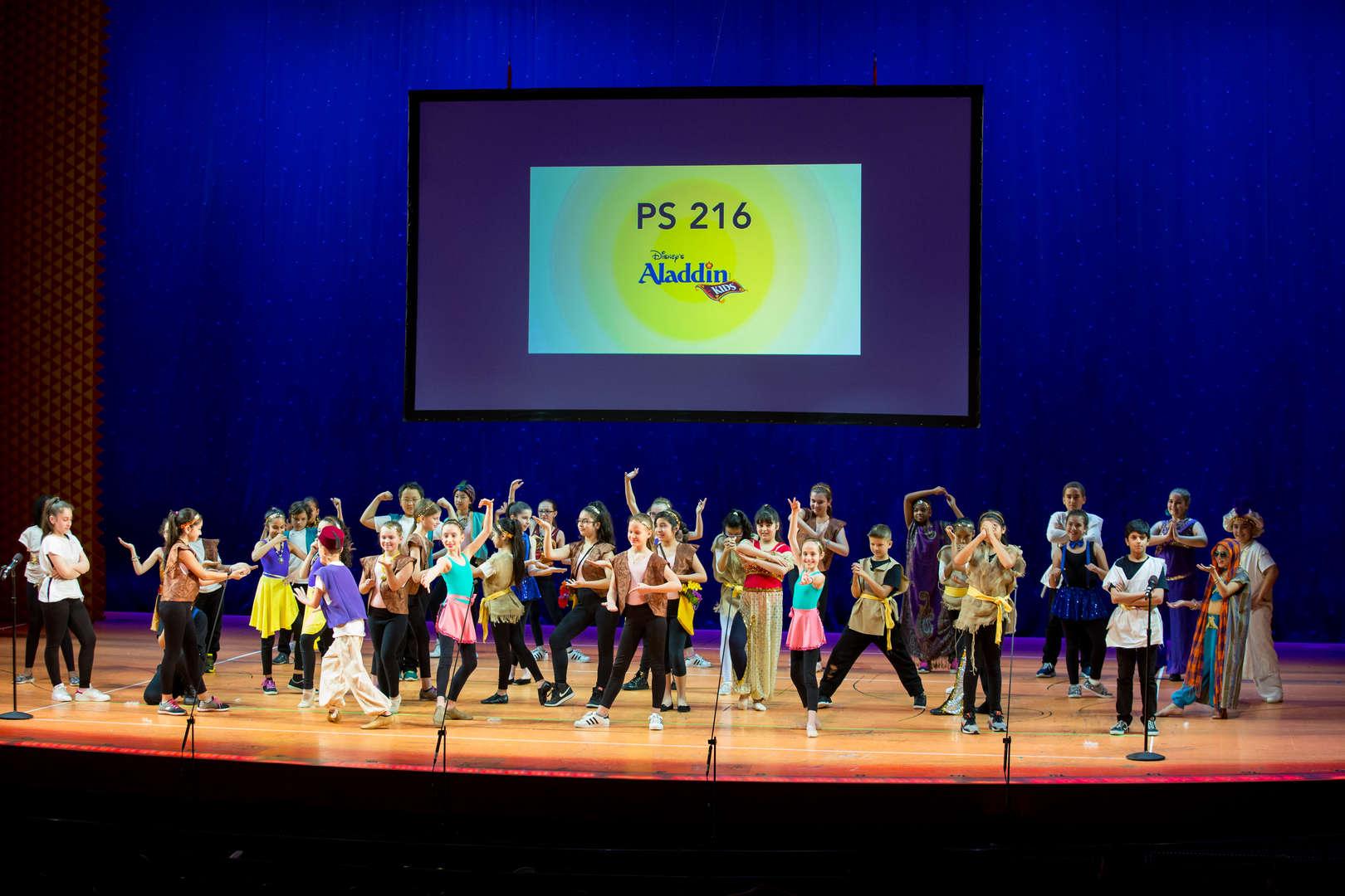 P.S. 216 Aladdin Kids School Performance
