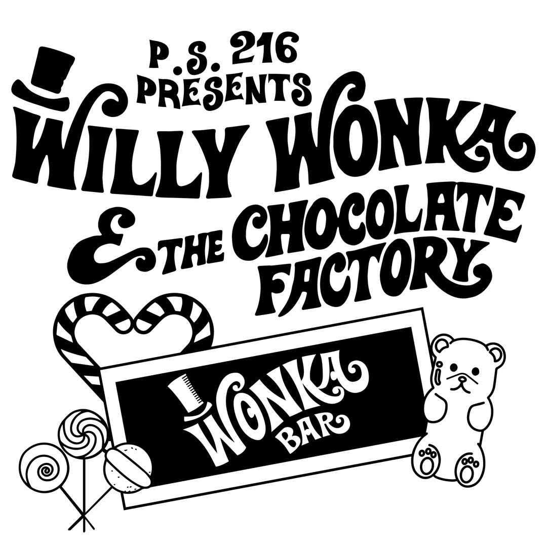 Willy Wonka Playbill Design