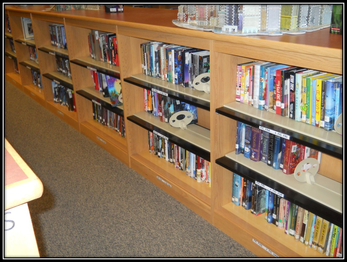 From fantasy and romance to mystery and action, the library has a book for everyone!