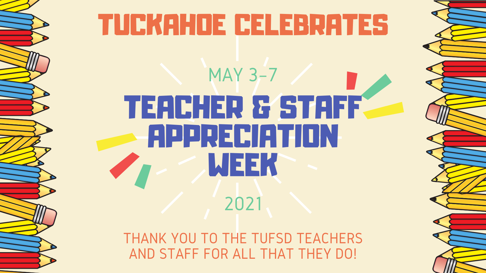 TUFSD Celebrates Faculty and Staff