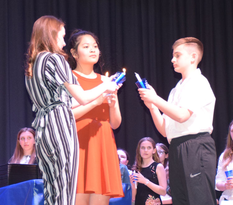 Lincoln Orens students uphold National Junior Honor Society values