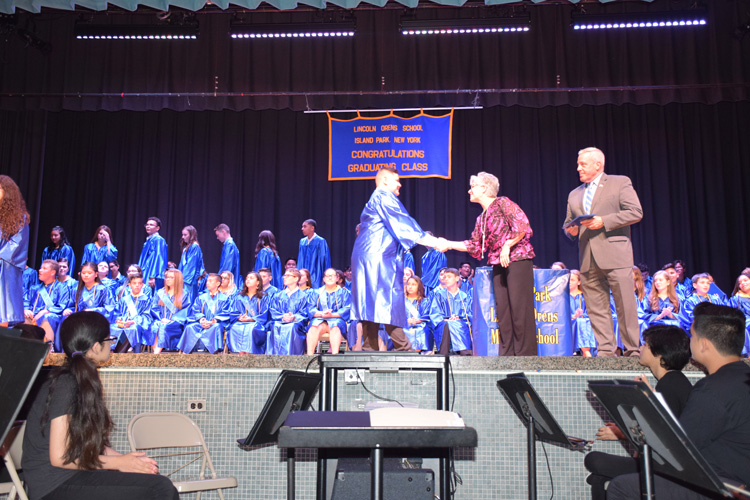 Lincoln Orens Middle School Honors Graduates